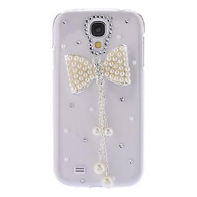 Bling Design Bowknot Style Rhinestone Hard Case for Samsung Galaxy S4 I9500
