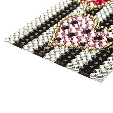 Estilo colorido del Bowknot con Pink Heart Jewelry etiqueta protectora del cuerpo para el teléfono móvil
