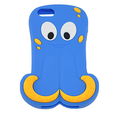 Cartoon Octopus Pattern Hard Case for iPhone 4/4S