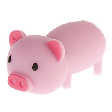 8GB Cartoon Pig Style USB 2.0 Flash Drive