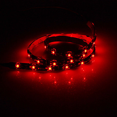 60cm 2W 30x3528SMD Red Light LED Strip lampe (12V DC)