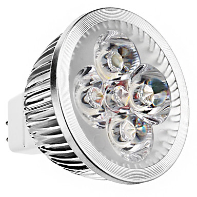 240 lm GU5.3 (MR16) LED-spotlampen MR16 4 leds Krachtige LED Warm wit DC 12V
