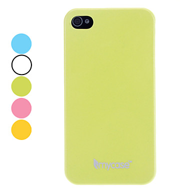 Solid Color Noctilucent Hard Case for iPhone 4/4S