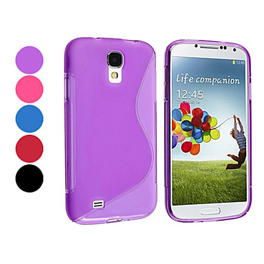 Pure Color TPU Soft Case for Samsung Galaxy S4 I9500 (Assorted Color)