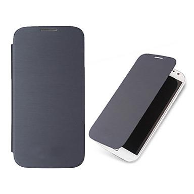 fólio cor sólida virar pu caso da tampa para Samsung Galaxy S3 i9300 (cores sortidas)