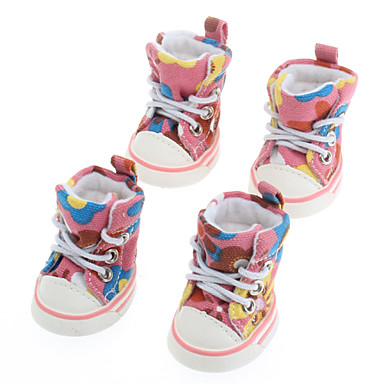Perros Zapatos y Botas Azul / Rosado Primavera/Otoño TerilenoPerro Zapatos