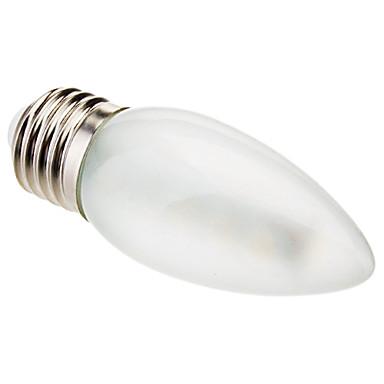 2.5 W 100-150 lm E26 / E27 LED-kaarslampen C35 16 LED-kralen SMD 5050 Decoratief Warm wit 220-240 V / RoHs