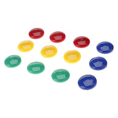 2cm imán redondeado colores (12 piezas)