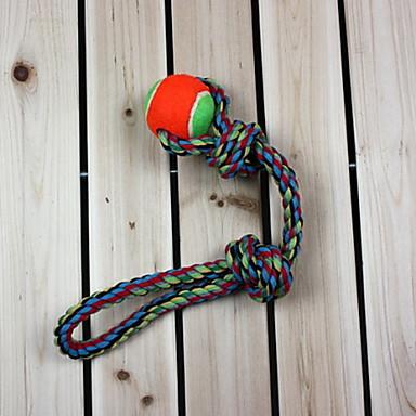 Köpek Oyuncağı Evcil Hayvan Oyuncakları Top Çiğneme Oyuncağı İp Dokuma Tekstil Evcil hayvanlar için