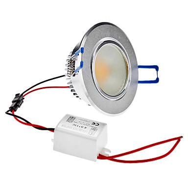 Dimmable 5W 1-400LM 2800-3300K Warm White Light COB LED Ceiling Bulb (220V)