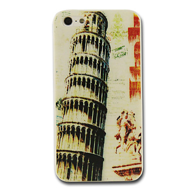 PC the Leaning Tower of Pisa Pattern Hard Case for iPhone 4/4S