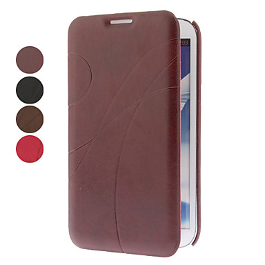 Elegant Line Pattern Full Body Case with Stand for Samsung Galaxy Note N7100 (Assorted Colors)
