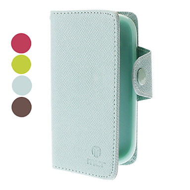 PU Leather Case with Card Slot for Samsung Galaxy S3 mini I8190
