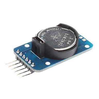 DS3231 Yüksek Hassas Gerçek Zaman Saati Modülü - Mavi (3.3 ~ 5.5V)