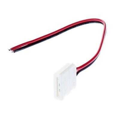 5050 smd awg22 ışık led şerit tek taraflı lamba bağlantısı (12v-24v)