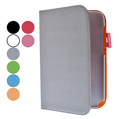 Simple Design PU Leather Case with Stand and Card Slot for Samsung Galaxy Note 8.0 N5100 (Assorted Colors)