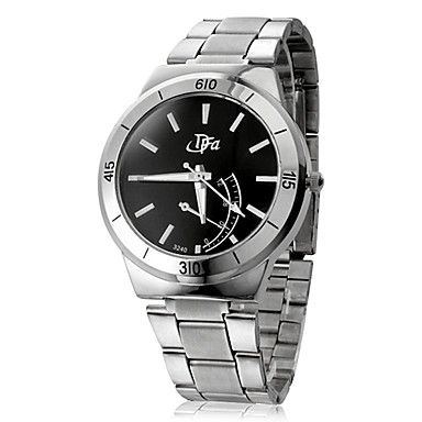 Men's  Steel Analog Automatic Wrist Watches Sport Watches(Silver)