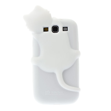 Samsung Galaxy S3 i9300 için Sevimli Kedi Türü kılıf