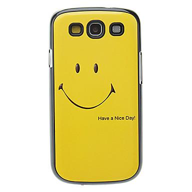 Uyumluluk Samsung Galaxy Kılıf Kılıflar Kapaklar Temalı Arka Kılıf Pouzdro Karton PC için Samsung Galaxy S3