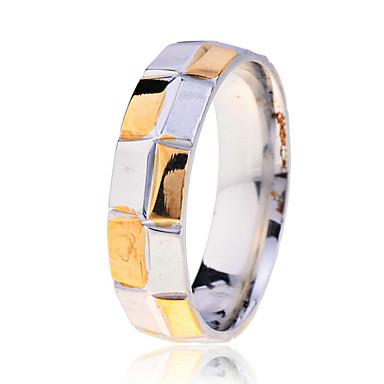 Ringen Feest / Dagelijks / Causaal Sieraden Roestvast staal Heren Bandringen 1 stuks,7
