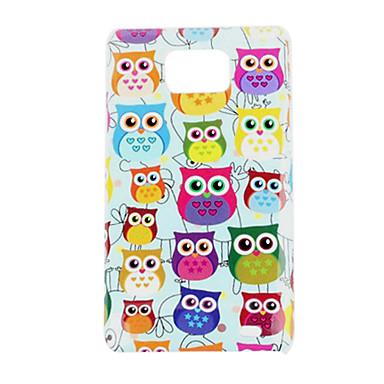 Owl Pattern Hard Case für Samsung Galaxy S2 I9100