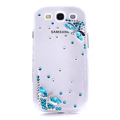 Samsung Galaxy S3 i9300 için Dragonfly Case Arka