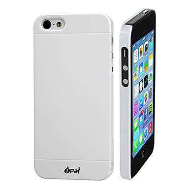 Için iPhone 5 Kılıf Buzlu Pouzdro Arka Kılıf Pouzdro Solid Renkli Sert PC iPhone SE/5s/5