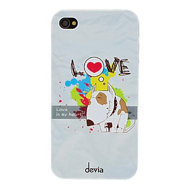 devia in love köpek desen pc iphone 4 / 4s iphone durumlarda sert durumda