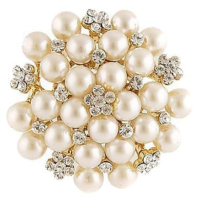 Kadın's Moda alaşım Beyaz Mücevher Uyumluluk Günlük