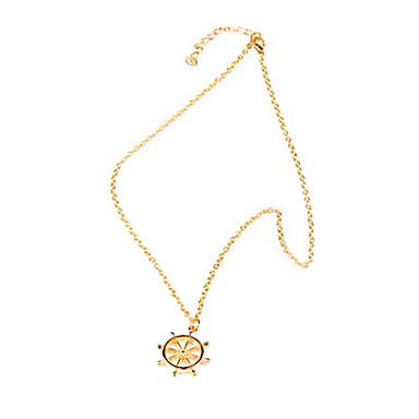 billige Mode Halskæde-Gylden Halskædevedhæng Legering Party Smykker
