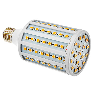 20W E26/E27 LED Corn Lights T 102 leds SMD 5050 Warm White 600-630lm 3000K AC 220-240V