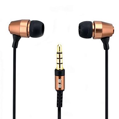 Metallic In-ear Stereo Music Earphone