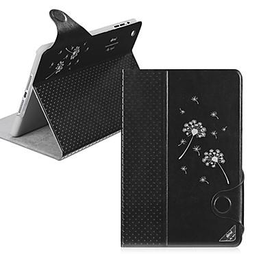 Pouzdro Uyumluluk iPad Mini 3/2/1 Satandlı Oto Uyu / Uyan Manyetik Tam Kaplama Kılıf Karahindiba PU Deri için iPad Mini 3/2/1