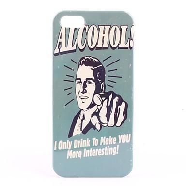 Etui Rigide Motif Alcool pour iPhone 5