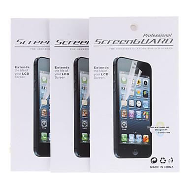 Ekran Koruyucu Samsung Galaxy için PVC Ön Ekran Koruyucu Parlama Karşıtı
