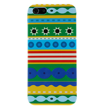 Colorful Pattern Hard Case for iPhone 5/5S