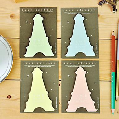 Láska Eiffelova věž v Paříži Poznámky Self-Stick (Random Color)