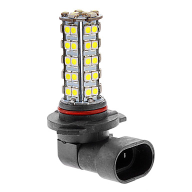 HB3 9005 3.5W 68x3528SMD 180-220LM 6000-6500K Cool White Light Fog Bulb High Beam Runing Lamp (12V)