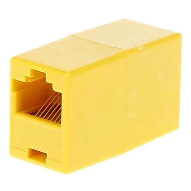 Erkek Adaptör Sarı için RJ45 dişi