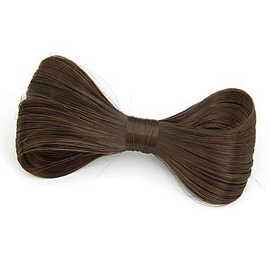 Women's Fabric Hair Clip Black Coffee