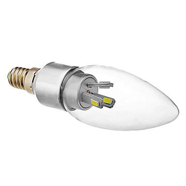 330 lm E14 LED Mum Işıklar 6 led SMD 5630 Serin Beyaz