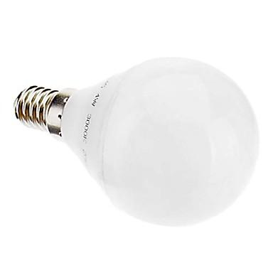 320 lm E14 LED Küre Ampuller 26 led SMD 3022 Sıcak Beyaz AC 220-240V
