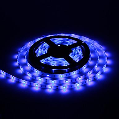 Waterproof 5M 30W 30x5050SMD 1500-1800LM Blue Light LED Strip Light (DC12V)