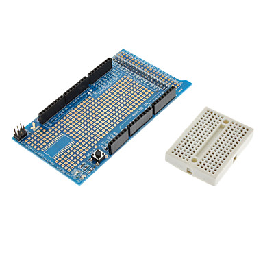 Prototype Shield Protoshield V3 Expansion Board with Mini Bread Board for (For Arduino) MEGA