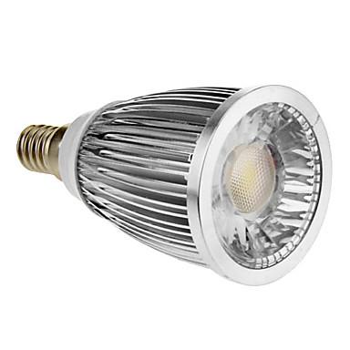 E14 5W 1xCOB 420-450lm 3000-3500K Sıcak Beyaz Işık Nokta Ampul (85-265V)