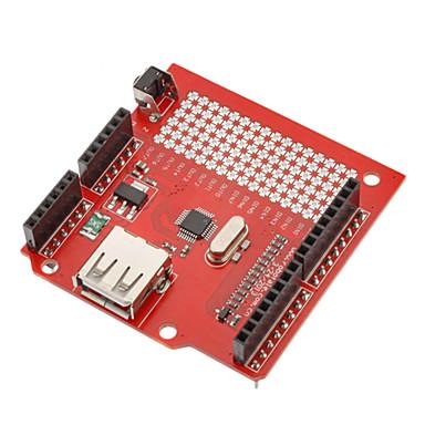 (Arduino için) için usb konak kalkan genişleme kartı (arduino) panoları için (resmi ile çalışır)