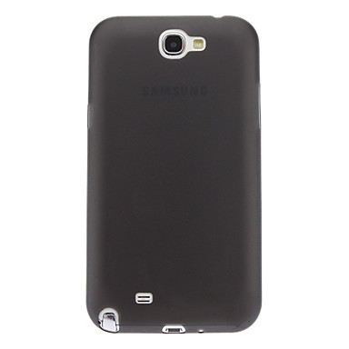 Ultra-thin Gel Transparent Soft Back Cover Case for Samsung Galaxy Note2 N7100