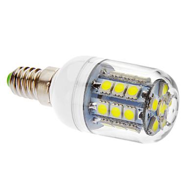 E14 LED Mısır Işıklar T 27 led SMD 5050 405lm Serin Beyaz 6000