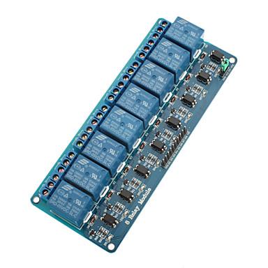 8 kanallı 5v röle modülü (arduino için) (resmi (arduino) panolarla çalışır)