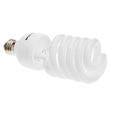 E27 40W 2400LM 6500K Günışığı ESL / CFL 5T Yarım Spiral Ampul ® ADDVIVA (220-240V)